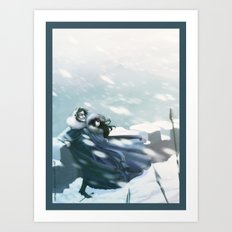 it rimes with... Art Print