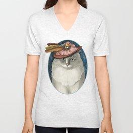 Lady Bird Unisex V-Neck