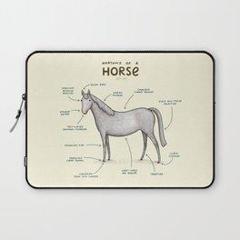 Anatomy of a Horse Laptop Sleeve