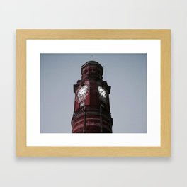 Clock Tower, Launceston (TAS) Framed Art Print