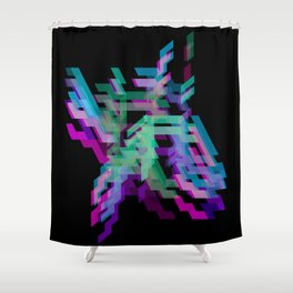 Project 3D (aka the sick project) Shower Curtain