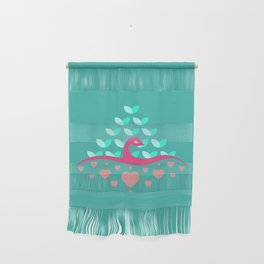 Be Beautiful - Be Colourful Peacock Wall Hanging