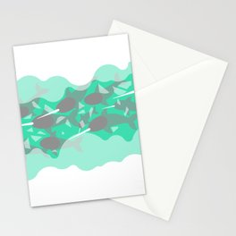 Narwhal - Winter Arctic Stationery Cards