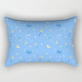 Sailor Mercury Pattern Rectangular Pillow