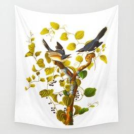 Loggerhead Shrike Bird Wall Tapestry