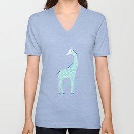 Animal Kingdom: Giraffe II Unisex V-Neck