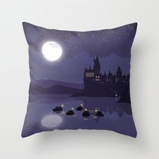 1st Year Arrivals Throw Pillow