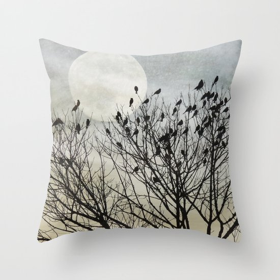 Travellers Roost Throw Pillow