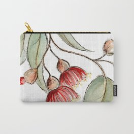 Flowering Australian Gum Carry-All Pouch