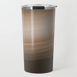 Sepia Brown Ombre Travel Mug