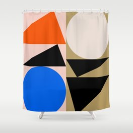 Abstract Art II Shower Curtain
