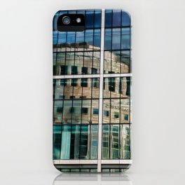 London Photography Canary Wharf Reuters iPhone Case