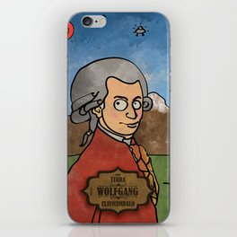 Wolfgang from Earth (Clavicembalo) iPhone Skin
