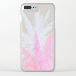 Tropical Panache 5 Clear iPhone Case