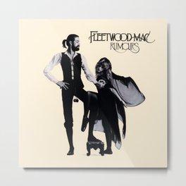 Stevie Nicks Album Rumours Rock Band Fleet Wood Mac Metal Print