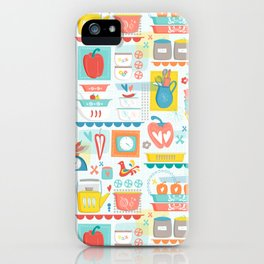 Peppers and Pyrex iPhone Case