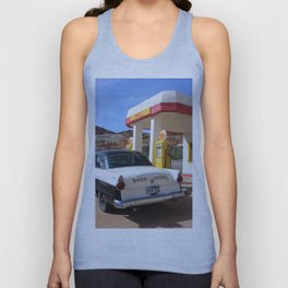 Biker Patrol Vintage Car : Lowell Arizona Unisex Tank Top