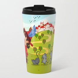 The Pied Piper of Hamelin  Travel Mug
