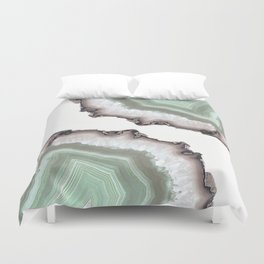 Light Water Agate Duvet Cover