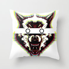 Cover Your Eyes Throw Pillow
