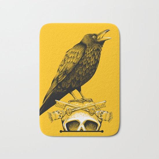 Black Crow, Skull and Cross Keys Bath Mat