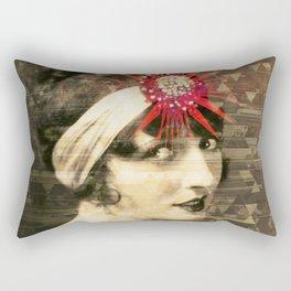 Flapper Geometry Rectangular Pillow