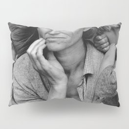 Migrant Mother Great Depression Pillow Sham