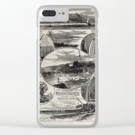 View in Rodriguez relating to the Transit of Venus Clear iPhone Case