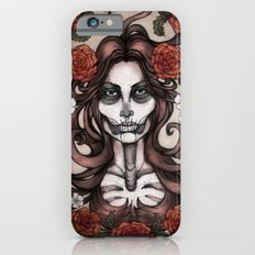 Blossoming Day of the Dead Slim Case iPhone 6s