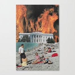 Willful Ignorance Canvas Print