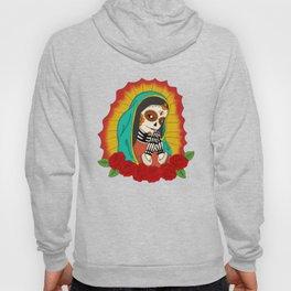 Virgin de Guadalupe Sugar Skull Hoody