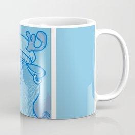 Blue Hairpin Coffee Mug