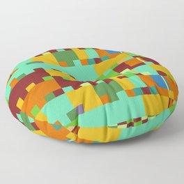 Chopin Fantaisie Impromptu (Intense Colours) Floor Pillow