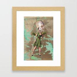 Sea fairy Framed Art Print