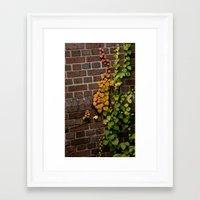 climbing Framed Art Prints featuring Climbing by C. Wie Design