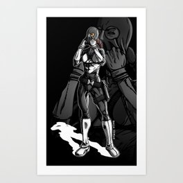 Vigilante Girl Art Print