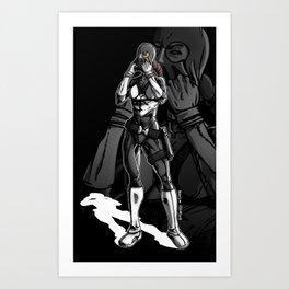 Vigilante Girl Art Print