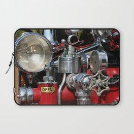 Old Fire Truck Laptop Sleeve