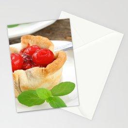 Cherry Tarts Stationery Cards