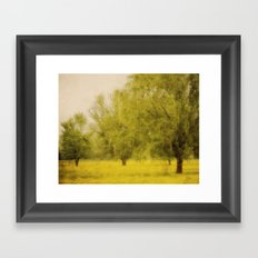 Willowing Framed Art Print