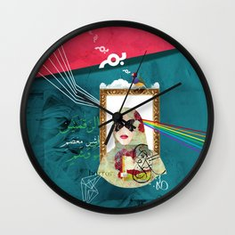 Bal Masque Wall Clock