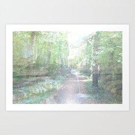 il bosco fatato Art Print