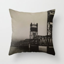 Old Border Crossing Throw Pillow