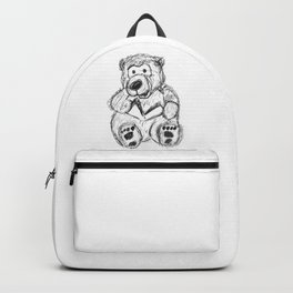 Teddy Bear singing Christmas carols Backpack