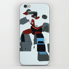 Transformers G1 - Autobot Red Alert iPhone & iPod Skin