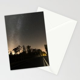 Milky high way Stationery Cards