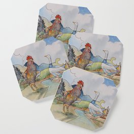 Cock and Goose Coaster