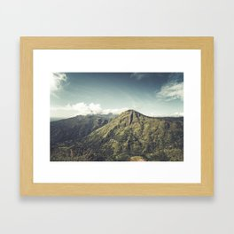 Ella Rock, Sri Lanka Framed Art Print