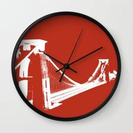 Clifton [Ruby] Wall Clock