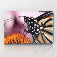 dentist iPad Cases featuring Monarch Macro by IowaShots